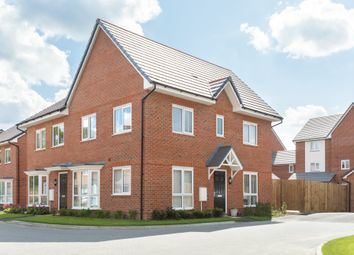"""Thumbnail 3 bed semi-detached house for sale in """"Hadley"""" at Hyde End Road, Spencers Wood, Reading"""