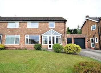 Thumbnail 4 bed semi-detached house for sale in Highfield Avenue, Appleton, Warrington