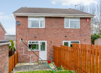 Thumbnail 2 bed semi-detached house for sale in Fieldway Close, Leeds