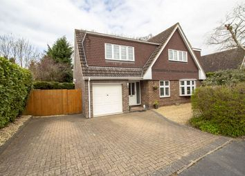 Thumbnail 4 bed detached house for sale in Shaldons Way, Fleet