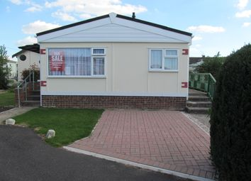 Thumbnail 1 bed mobile/park home for sale in Williams Green, Tower Park, Hullbridge, Hockley, Essex