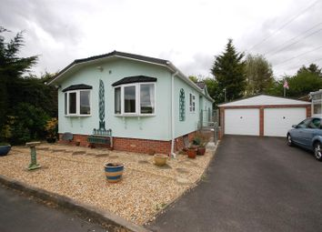 Thumbnail 2 bedroom mobile/park home for sale in The Glade, Wildwood Park, Cirencester