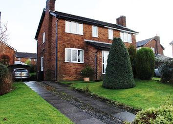 Thumbnail 3 bed semi-detached house for sale in Hillwood Drive, Shirebrook Park, Glossop, Derbyshire