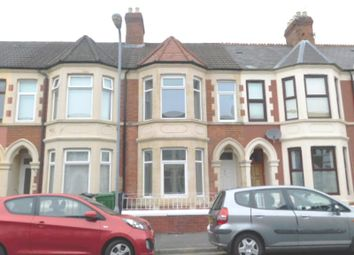 Thumbnail 3 bed terraced house for sale in Dogfield Street Cathays, Cardiff