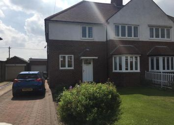 Thumbnail 4 bedroom semi-detached house for sale in Cheviot View, Ponteland, Northumberland, Tyne & Wear