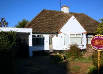 Thumbnail 2 bedroom semi-detached bungalow for sale in Beech Grove, Boothville, Northampton