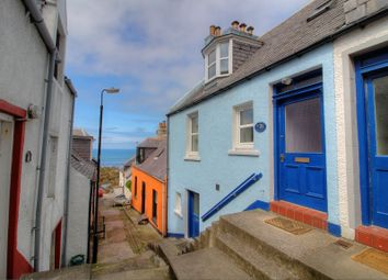 Thumbnail 3 bed terraced house for sale in Seatown, Gardenstown, Banff