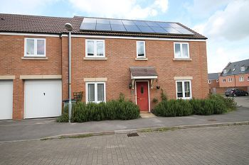 Thumbnail 4 bed end terrace house to rent in Romney Close, Warminster, Wiltshire