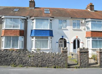 Thumbnail 5 bed terraced house for sale in Victoria Park Road, Plainmoor, Torquay