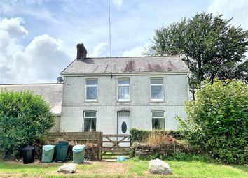 Thumbnail 5 bed detached house for sale in Llannon Road, Pontyberem, Llanelli