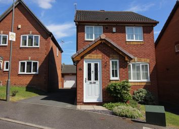 Thumbnail 3 bed detached house for sale in Sparrow Close, Ilkeston