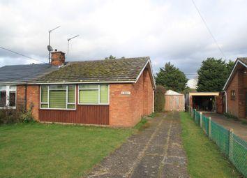 Thumbnail 2 bedroom semi-detached bungalow for sale in Fornham All Saints, Bury St Edmunds, Suffolk