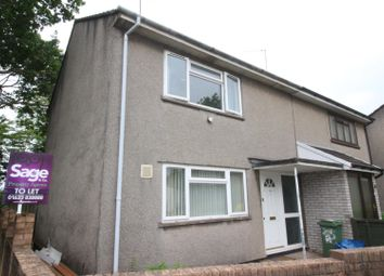 Thumbnail 2 bed terraced house to rent in Salisbury Court, Greenmeadow, Cwmbran
