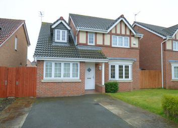 Thumbnail 4 bed detached house for sale in Trevorrow Crescent, Chesterfield