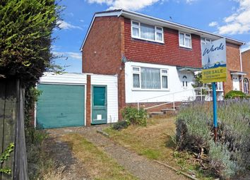 Thumbnail 3 bed semi-detached house for sale in Merlin Avenue, Larkfield, Aylesford, Kent