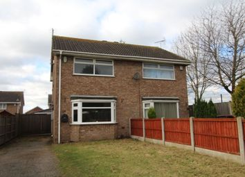 Thumbnail 2 bed semi-detached house for sale in Darwin Close, Nottingham