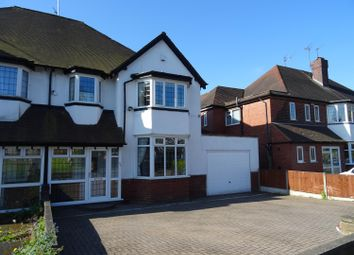 Thumbnail 4 bed semi-detached house for sale in Court Oak Road, Harborne, Birmingham