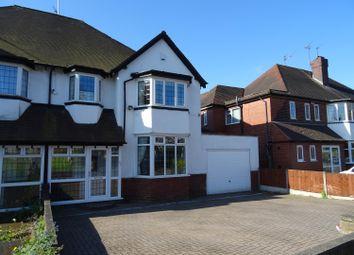 Thumbnail 4 bedroom semi-detached house for sale in Court Oak Road, Harborne, Birmingham