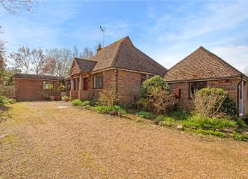 Highfield Lane, Thursley, Godalming, Surrey GU8. 3 bed detached bungalow for sale