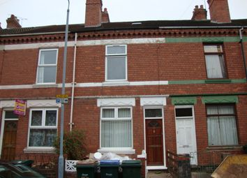 Thumbnail 4 bed terraced house to rent in Monks Road, Stoke