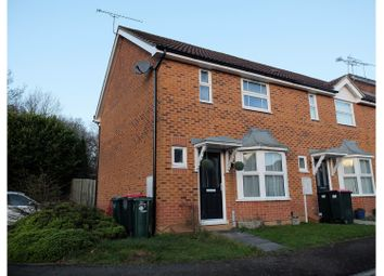 Thumbnail 2 bed end terrace house for sale in Penfold Road, Crawley