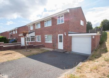 Thumbnail 3 bedroom semi-detached house for sale in Pattinson Close, Plymouth
