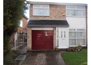Thumbnail 3 bed semi-detached house for sale in Deepdale Drive, Prescot