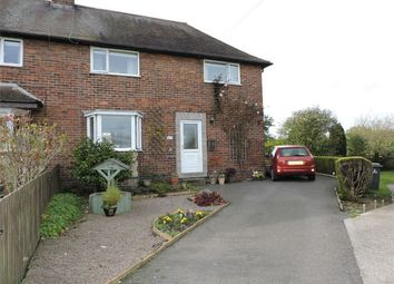 Thumbnail 3 bed semi-detached house for sale in Park Street, Wessington, Alfreton, Derbyshire