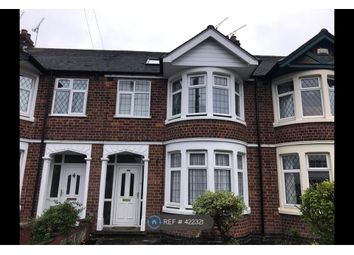 Thumbnail 4 bed terraced house to rent in Belgrave Road, Coventry