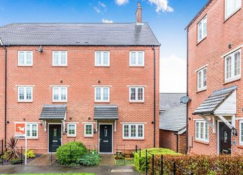 Thumbnail 3 bed terraced house for sale in Salford Way, Church Gresley, Swadlincote