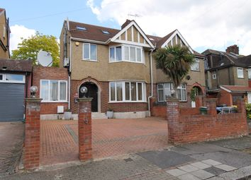 Thumbnail 4 bed semi-detached house for sale in Hill Drive, London