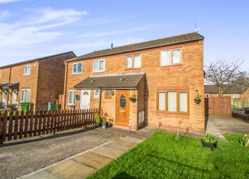Thumbnail 3 bed semi-detached house for sale in Centurion Close, Ely, Cardiff