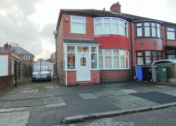 3 bed semi-detached house for sale in Royston Road, Firswood, Manchester M16