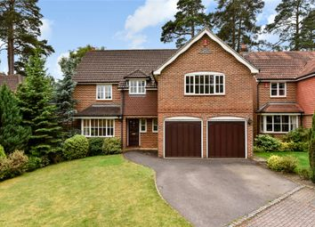 Thumbnail 5 bed detached house for sale in The Mallards, Frimley, Camberley, Surrey