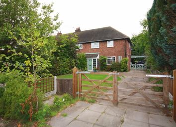 Thumbnail 3 bed semi-detached house for sale in Manor Place, Hunsterson, Nantwich