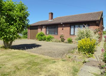 Thumbnail 2 bed detached bungalow for sale in Gorefield Road, Leverington, Wisbech