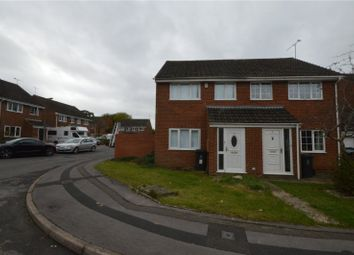 Thumbnail Semi-detached house for sale in Leslie Close, Freshbrook, Swindon