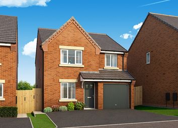 "Thumbnail 4 bed property for sale in ""The Rowingham"" at Harwood Lane, Great Harwood, Blackburn"