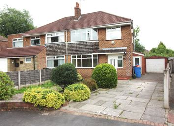 Thumbnail 3 bedroom semi-detached house to rent in Heyes Avenue, Timperley