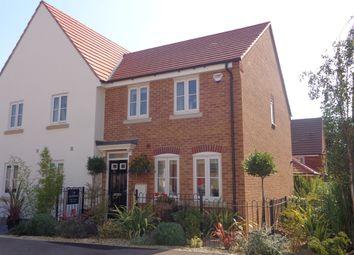 Thumbnail 3 bed semi-detached house to rent in Coleridge Drive, Whiteley, Fareham, Hampshire