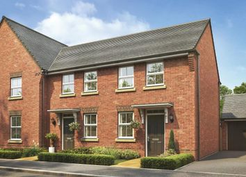 "Thumbnail 2 bed terraced house for sale in ""Wilford"" at Tingewick Road, Buckingham"