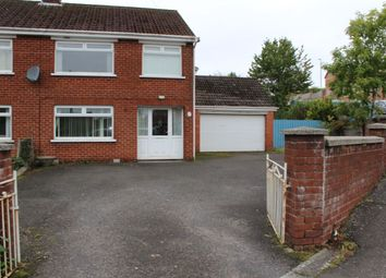 Thumbnail 3 bed semi-detached house for sale in Ballyregan Road, Dundonald, Belfast
