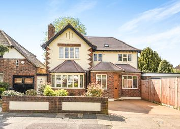 Thumbnail 4 bedroom detached house for sale in Branksome Way, New Malden