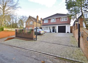 Thumbnail 4 bed detached house for sale in Weavering Street, Weavering, Maidstone