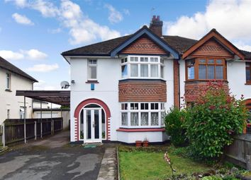 Thumbnail 3 bed semi-detached house for sale in Ashford Road, Bearsted, Maidstone, Kent