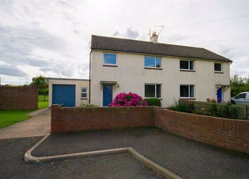 Thumbnail 3 bed semi-detached house for sale in West Mains, Beal, Berwick-Upon-Tweed