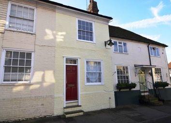 Thumbnail 2 bed terraced house to rent in Bridge Street, Wye, Ashford