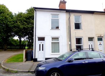 Thumbnail 2 bed end terrace house to rent in Moss Street, Derby