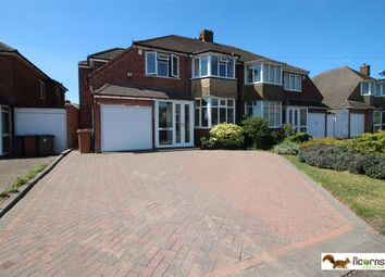 Thumbnail 4 bed semi-detached house for sale in Ferndale Road, Streetly, Sutton Coldfield