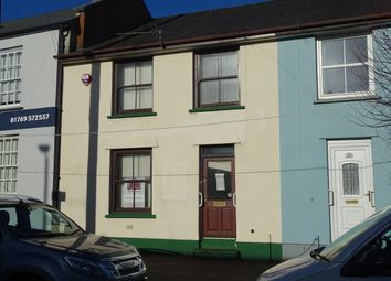 Thumbnail 3 bedroom terraced house for sale in East Street, South Molton, Devon